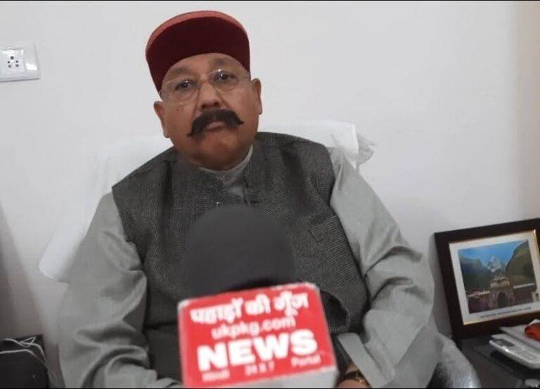 उत्तराखंड पर्यटन द्वारा 26 से 28 फरवरी के मध्य कोलकाता में आयोजित हुए travel and tourism fair से पूर्व पर्यटन मंत्री सतपाल महाराज से वार्ता