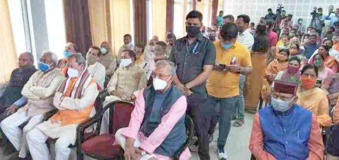 भारतीय जनता पार्टी ने मनाया स्थापना दिवस