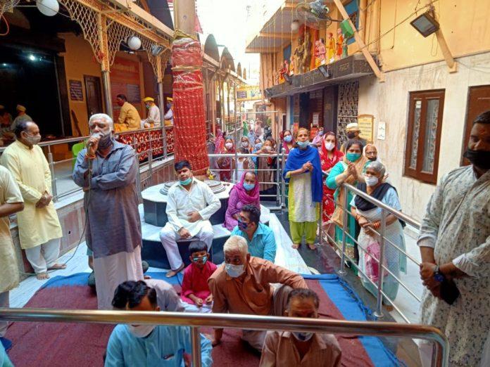 रामनवमी पर होगा मां कालिका मंदिर में ध्वजारोहण