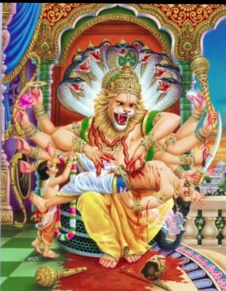 सरल रूप में  नृसिंह भगवान के प्राकटय दिवस पर सुधी पाठकों को हार्दिक शुभकामनाएं -जाने