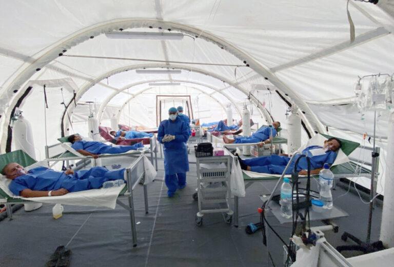 अस्थाई अस्पताल में बना प्रदेश का पहला चिल्ड्रन कोविड वार्ड