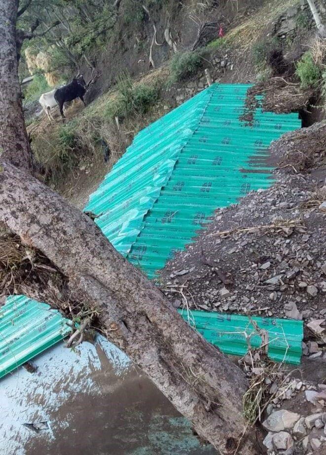 बेमौसमी बारिश से फसलों को नुकसान, काश्तकारों में मायूसी