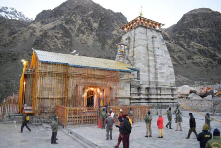 गुड न्यूज-हिमालय स्थित ग्यारहवें ज्योर्तिलिंग श्री केदारनाथ धाम के कपाट खुले महामारी के समाप्ति की प्रार्थना की गई  जाने