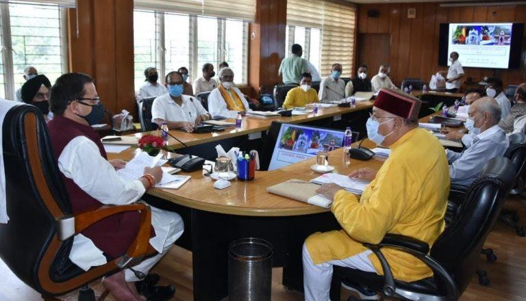 उत्तराखंड चारधाम देवस्थानम प्रबंधन बोर्ड में चारों धामों के लिए 55.38 करोड़ रुपए का बजट किया ,सरकार का काम मंदिर व्यवस्थाओं पर अधिकार नहीं सहयोग करना है – पुष्कर सिंह धामी मुख्यमंत्री