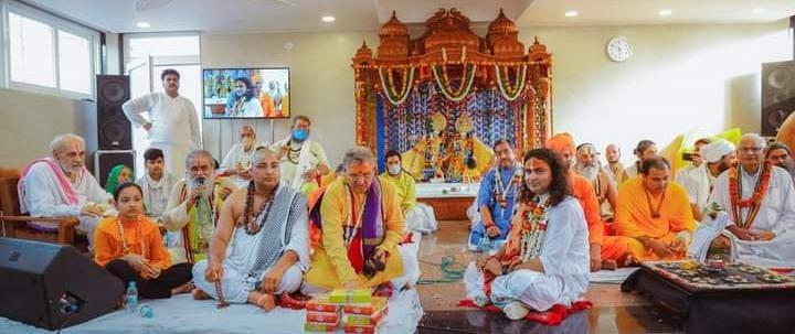 हिंदू श्रंखला चैरिटेबल ट्रस्ट के नेतृत्व भगवान श्री गौरी गोपाल की मूर्ति प्राण प्रतिष्ठा का भव्य आयोजन हुआ