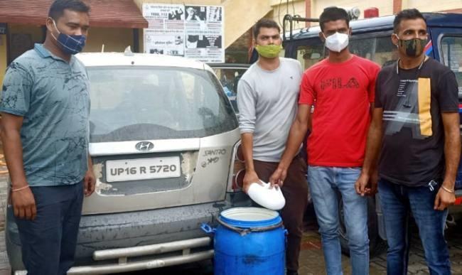 नकली पनीर की खेप बरामद, दो गिरफ्तार
