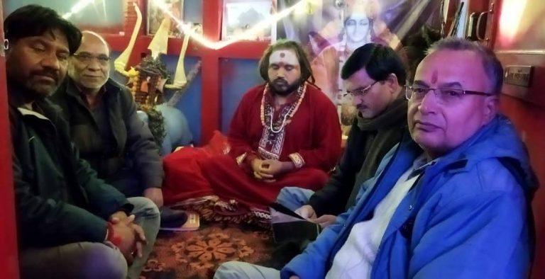 शिक्षक दिवस पर ,श्री बद्रीनाथ मन्दिर में स्थानीय जनता को अन्य जगह की भांति दर्शन करने दिया जाय -आमरण अनशन कारी मौनी बाबा धर्मराज भारती