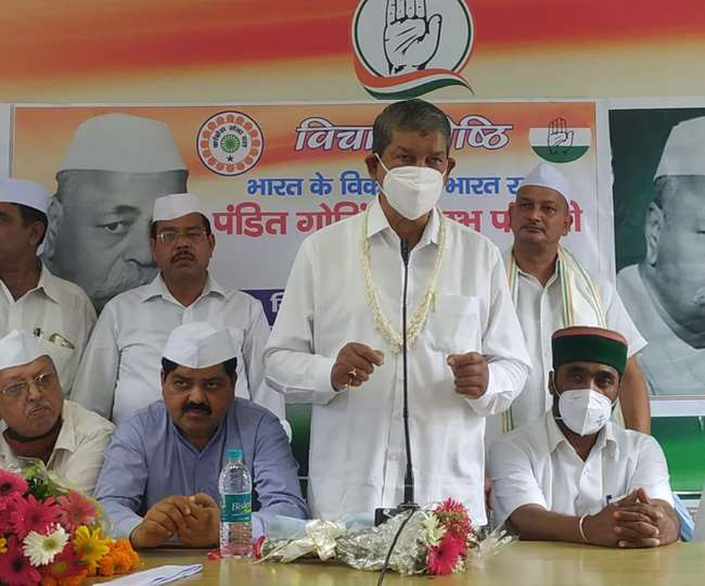 पंडित गोविंद बल्लभ पंत की जयंती पर कांग्रेसियों ने किया उन्हें याद