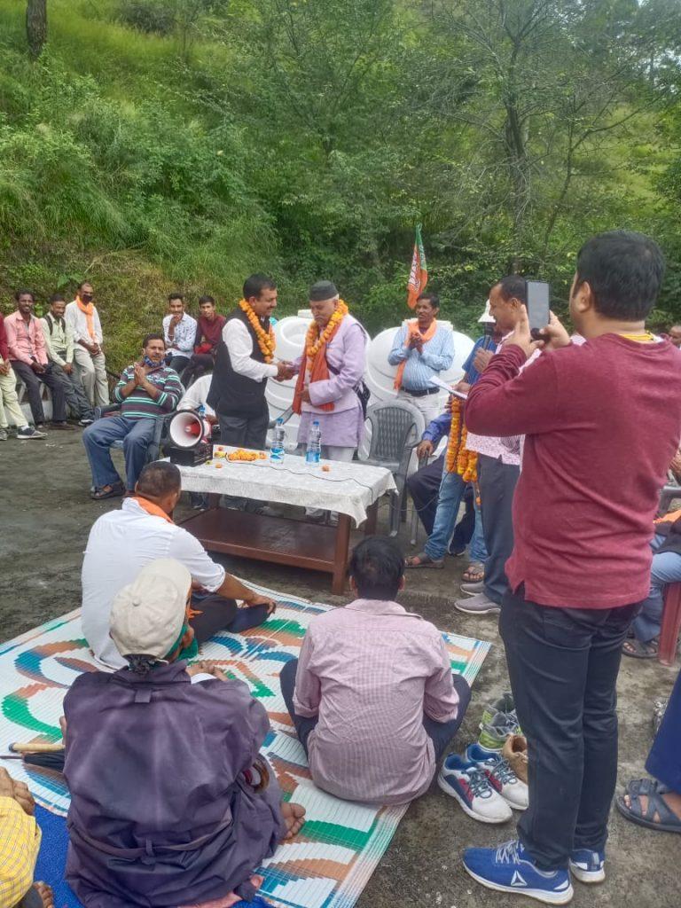 भाजपा नेता उप्रेती ने रानीखेत विधानसभा से ठोकी ताल